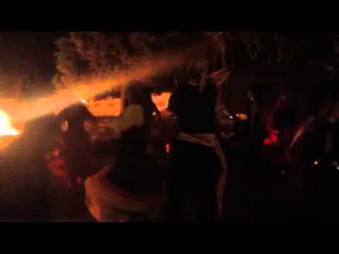 Luzes e mais luzes! A dança do fogo purificador