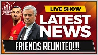 MOURINHO Wants MANCHESTER UNITED To Lose! Plus ZLATAN IBRAHIMOVIC To MAN UTD Transfer News