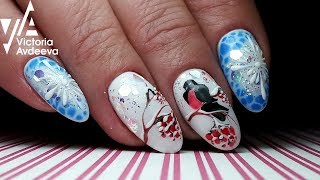 Зимний Экспресс Дизай Ногтей | ТОП удивителные дизайны ногтей