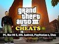 ► Grand Theft Auto 3 ✪ All Cheats