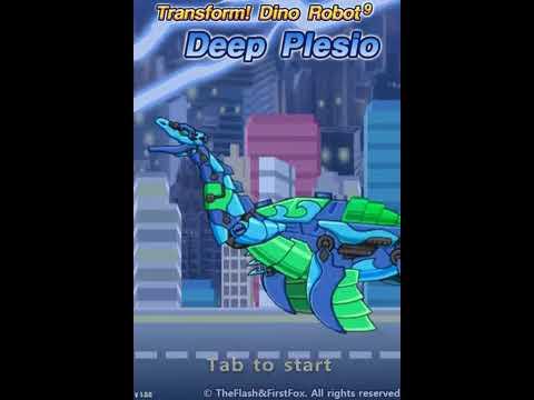 Роботы динозавры: Собирать Плезиозавра (Transform! Dino Robot Deep Plesio)