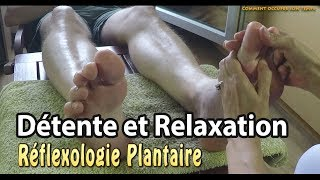 Détente et relaxation : La réflexologie plantaire