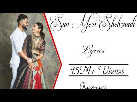 Sun Meri shehzaadi  (Saaton Janam Main Tere) Lyrics ▪ Rawmats ▪ Latest Tiktok Viral Song