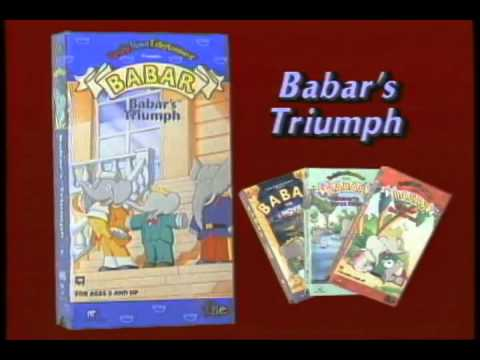 Random Movie Pick - Babar: The Movie 1989 Movie YouTube Trailer
