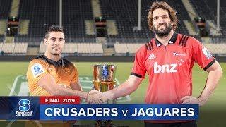 Crusaders v Jaguares | Super Rugby 2019 Final Highlights