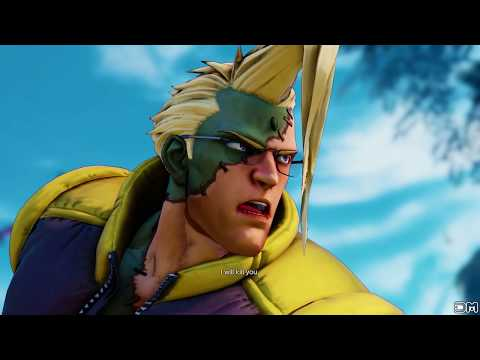 Street Fighter V All Character s
