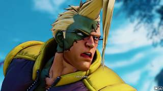 Street Fighter V All Character Intros