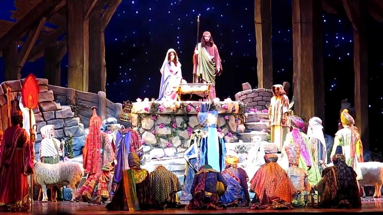 Radio City Christmas Spectacular 2017 The Living Nativity
