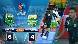 Dibabat Habis!  HIGHLIGHTS  VAMOS FC VS SORO COMPANY (FT: 6-4)  - AFC FUTSAL CLUB CHAMPIONSHIP 2019