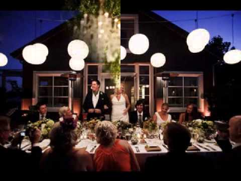 Small wedding reception ideas YouTube