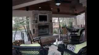 Addition Of Outdoor Living Space / Porch, Custom Design, Triangle Residential Designs