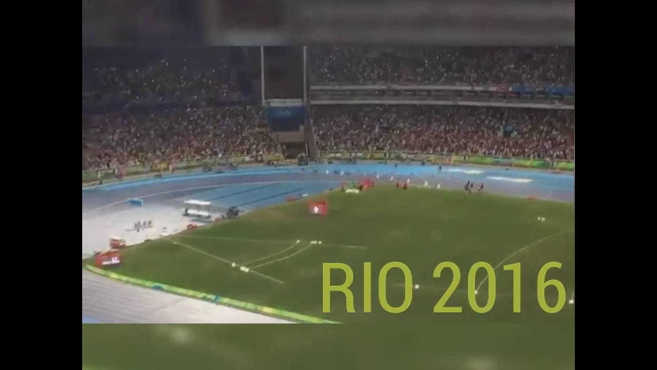 RIO 2016 Olympics: Usain Bolt Wins 100M Gold FINAL FULL ...