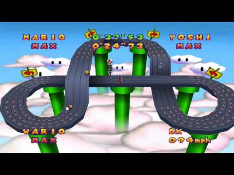 Mario Party 2 Mini Games – Slot Car Derby Course 3