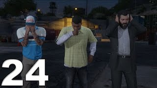 Grand Theft Auto 5 PS4 Gameplay Walkthrough Part 24 - Hotel Assassination!!