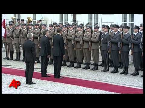 Raw Video: Obama in Poland, Last Stop in Europe