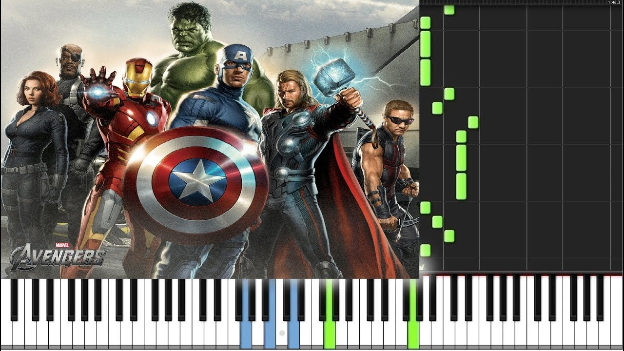 Infinity War Trailer Piano