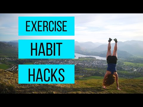 How to build HEALTHY HABITS for EXERCISE and DIET | Plus 5 HACKS to make them STICK