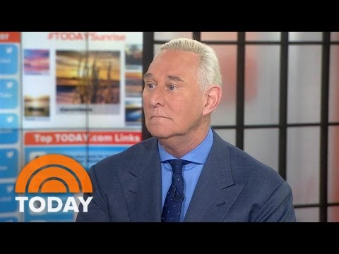 President Trump Confidante Roger Stone: James Comey 'Needed To Go' | TODAY