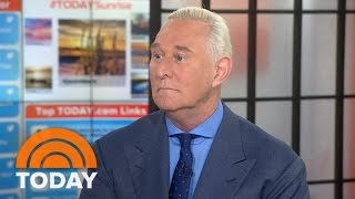 President Trump Confidante Roger Stone: James Comey 'Needed To Go' | TODAY