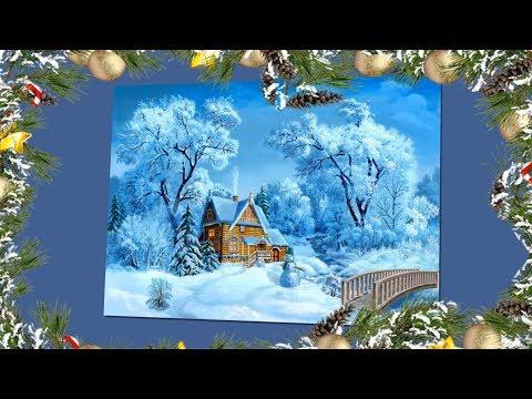 Прекрасные зимние пейзажи Виктора Цыганова