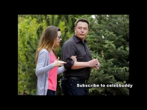 Elon Musk with His Beautiful wife Actress Talulah Riley Album...How Cute!!