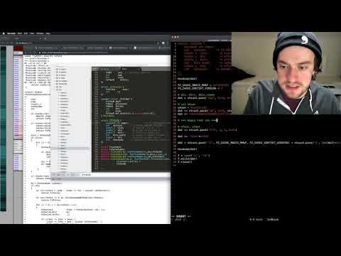 George Hotz | Programming | Exploiting fontconfig CVE-2016-5384 with QIRA | Part1