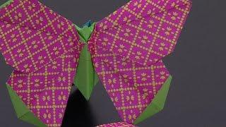 Cómo Hacer Mariposa de Colores en Origami - HogarTv por Juan Gonzalo Angel