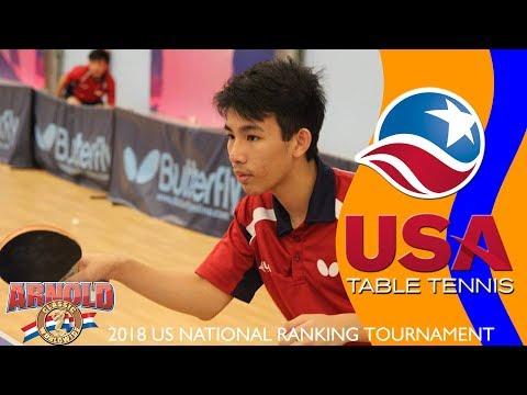 2018 US National Ranking Tournament - Yijun Feng vs Michael Tran (highlights)