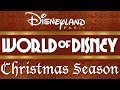 "World Of Disney: ""Christmas Season"" At Disneyland Paris (Original BGM/Complete Loop)"