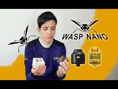 WASP NANO el Atomizador más enano!!