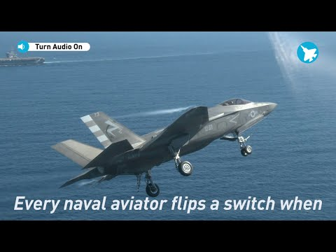 Lockheed Martin F-35 Test Pilot On F-35C IOC