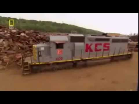 The Great Train Wrecking Yard : Documentary on Destroying Retired Locomotives (Full Documentary)