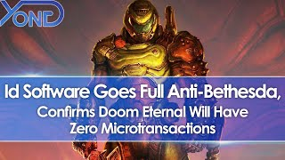 Id Software Goes Full Anti-Bethesda, Confirms Doom Eternal Won't Have Microtransactions