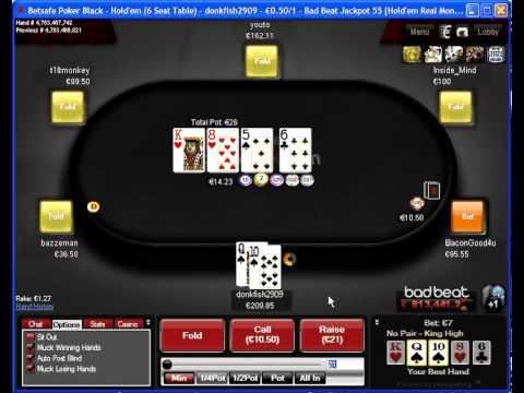 6 handed Texas Holdem Block Betting and Post Flop plays