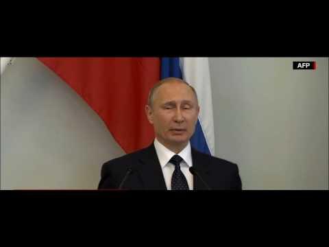 Срочно!В. Путин - О новых санкциях США и русофобии.27.07.2017. Финляндия