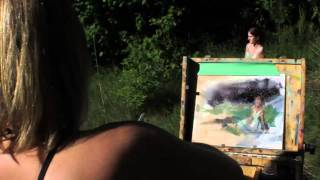 A Morning of Plein Air Painting Thumbnail
