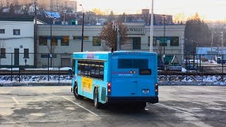 "Port Authority Transit (Pittsburgh): WEST Busway Flyer to Downtown & ""RETURN TRIP""... FULL RIDE!"