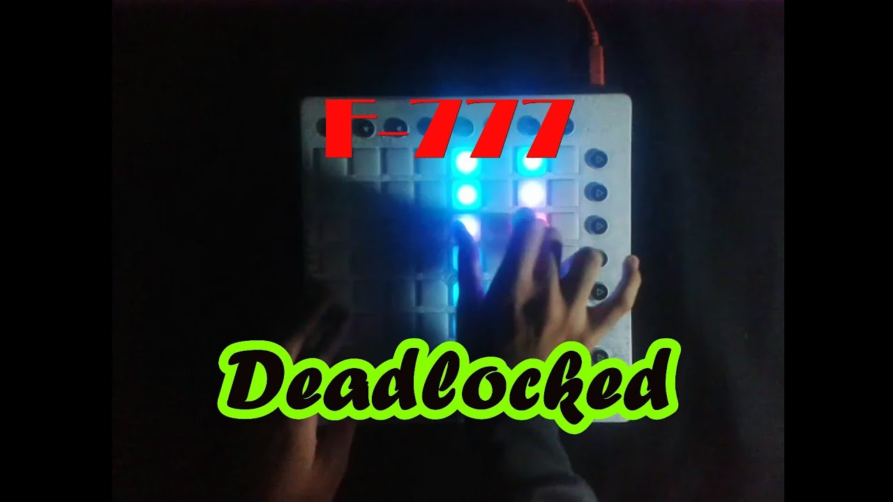 F-777 - Deadlocked // Launchpad Cover #1