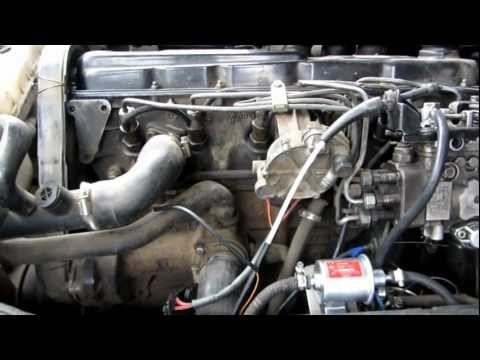 Volkswagen LT 28 ACT engine started with the HKT fuel pump.