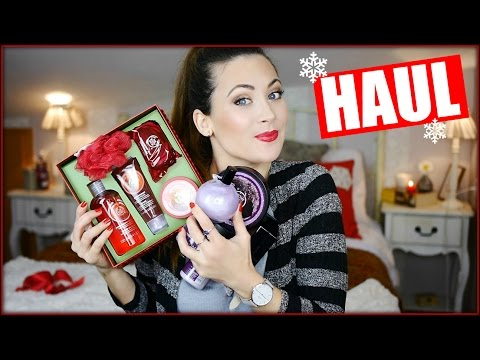 SUPER HAUL!!  CUIDADO CORPORAL Y MAQUILLAJE | The Body Shop y Benefit | LIZY P