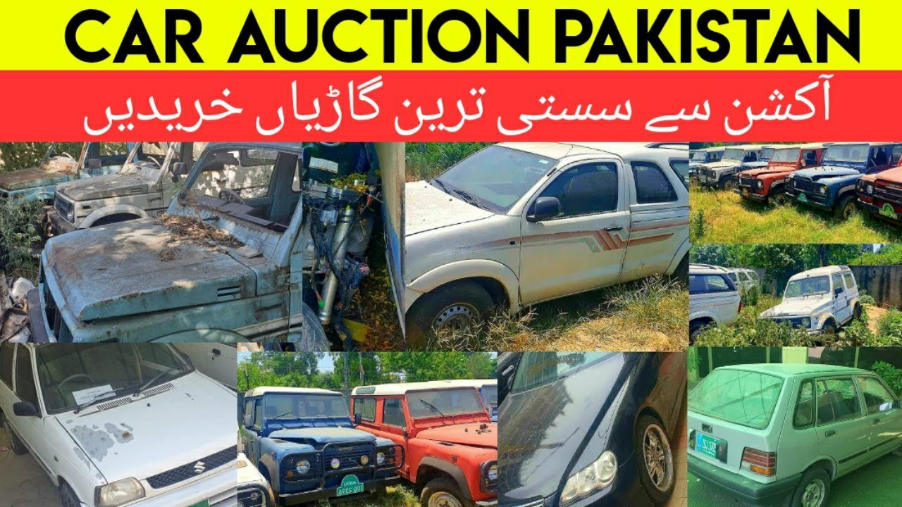 Car Auction Pakistan | Cheap Cars Auction | Islamabad, Faisalabad, Gawadar