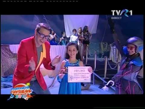 Bianca Lixandru PREMIUL 1 ''SCRISOARE CATRE DUMNEZEU '' -Mamaia copiilor 2012