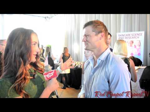 Bailey Chase at the GBK Pre GoldenGlobes Luxury Gift Lounge GBKpreGLOBES @Bailey_Chase