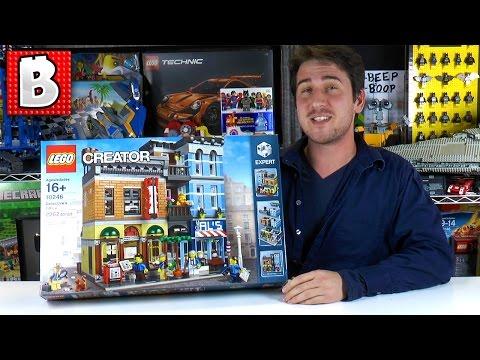 Lego Detectives Office 10246 Live Stream Build!