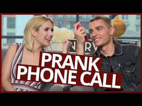 Dave Franco and Emma Roberts PRANK CALL DARE!