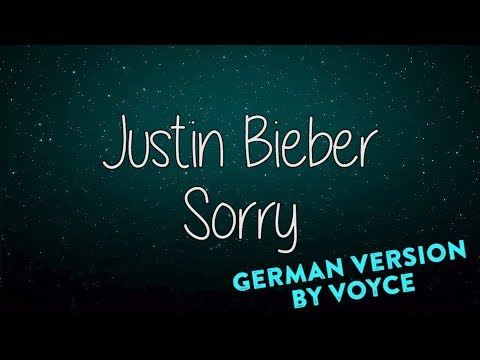 JUSTIN BIEBER   SORRY GERMAN VERSION