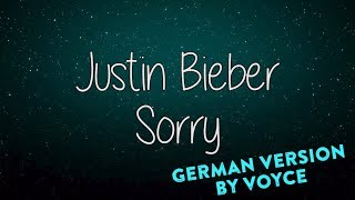 JUSTIN BIEBER  - SORRY GERMAN VERSION