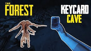 KEYCARD CAVE - The Forest Gameplay