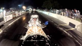 Walden & Wendland Blown Front Engine Dragster - 2013 BHRA Nationals - Texas Raceway