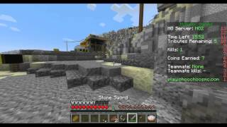 Minecraft Hunger Games- CCN- UNEARTHED- FIST FIGHT!